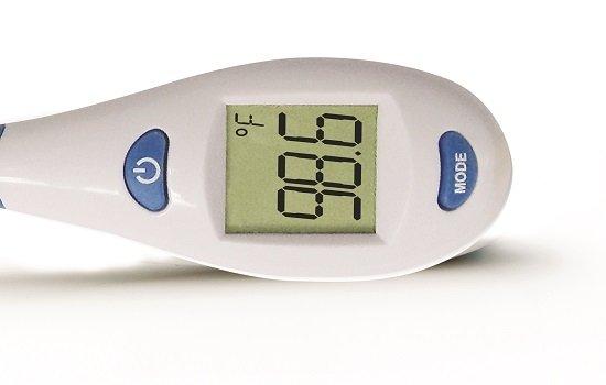 ADTEMP Ultra Fast Read Flex tip Digital Thermometer, °F/°C